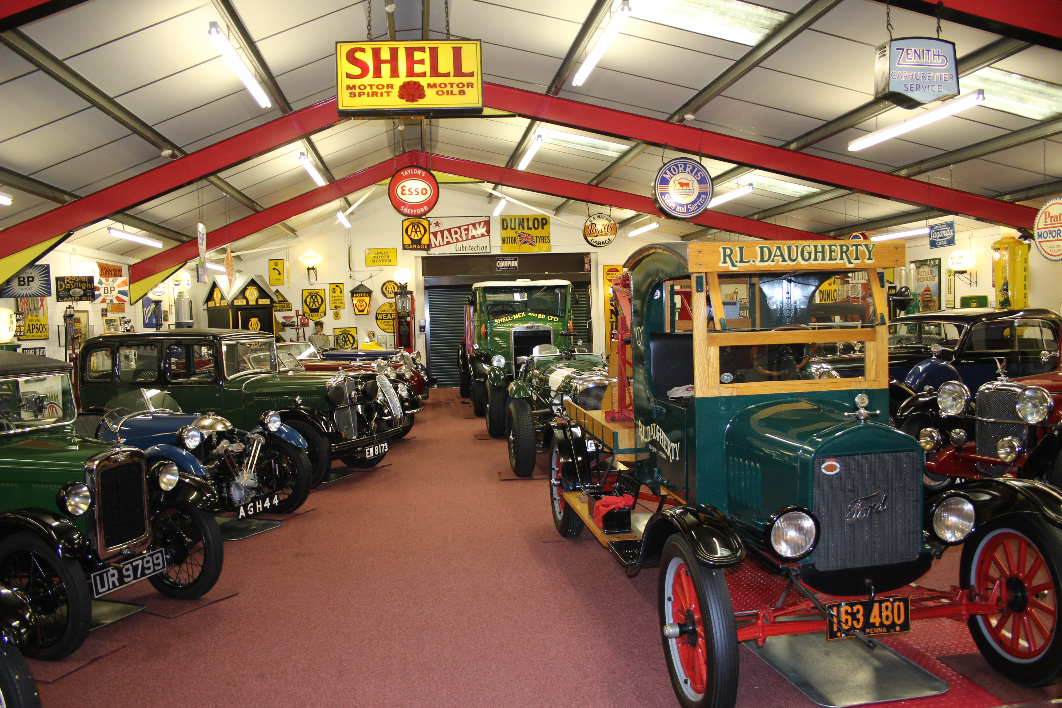 Visit to The Robert Lewis Collection of Classic Cars & Memorabilia ...