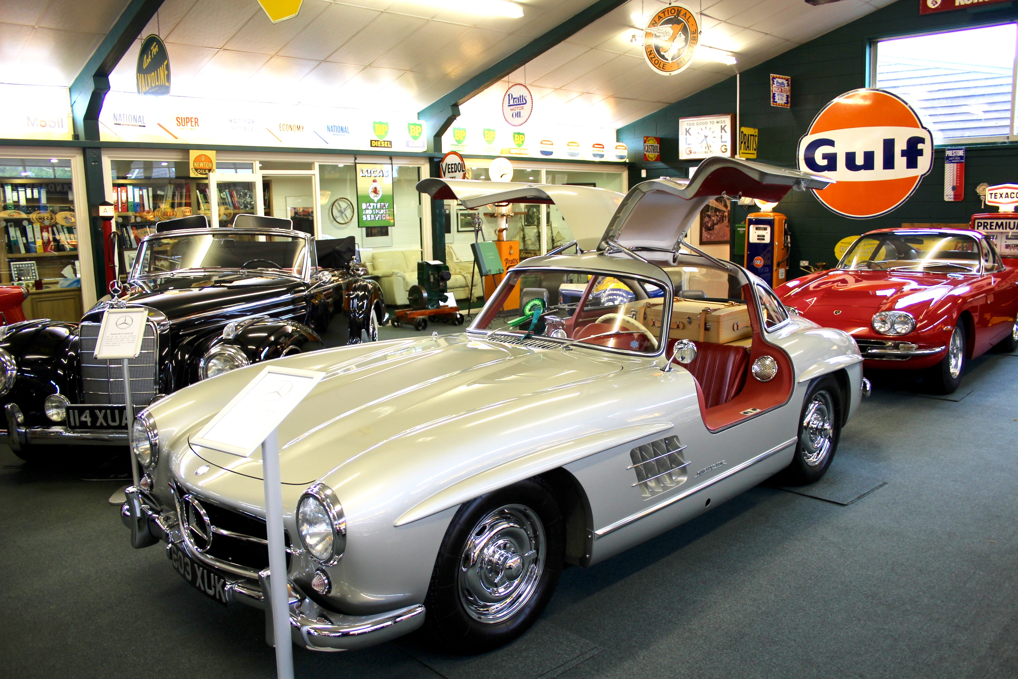 Visit To The Robert Lewis Collection Of Classic Cars